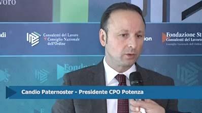 Intervista a Candio Paternoster, Presidente CPO Potenza