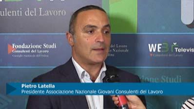 Intervista a Latella, Presidente Associazione Nazionale Giovani Consulenti del Lavoro