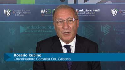 Intervista a Rosario Rubino, Coordinatore Consulta CdL Calabria
