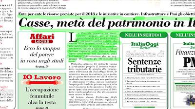 Rassegna Stampa - 05.03.2018
