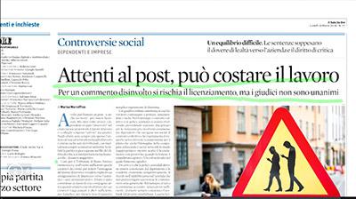 Rassegna Stampa - 19.03.2018