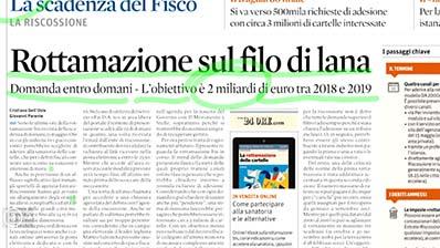 Rassegna Stampa - 14.05.2018