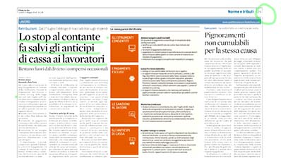 Rassegna Stampa - 21.05.2018