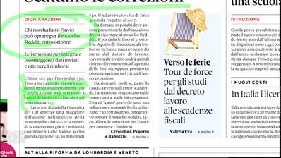 Rassegna Stampa - 23.07.2018