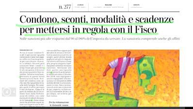 Rassegna Stampa - 12.11.2018