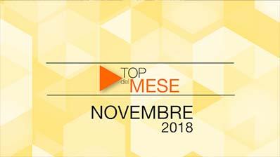 Top del mese - Novembre 2018