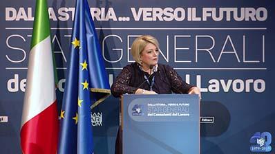 Dalla storia ... verso il futuro - Relazione della Presidente Calderone