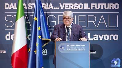 Dalla storia ... verso il futuro - Il Presidente dell'ENPACL Visparelli