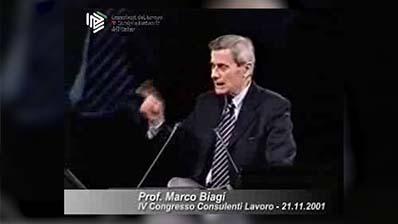 Estratto dell'intervento del Prof. Marco Biagi al IV Congresso CdL