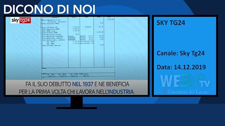 Sky Tg24 del 14.12.2019