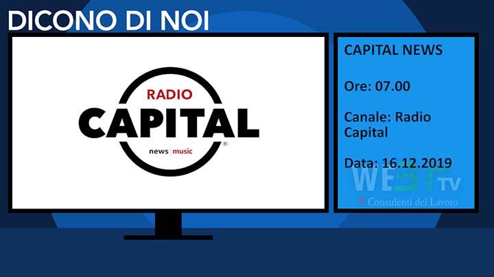 Radio Capital del 16.12.2019 delle 07.00