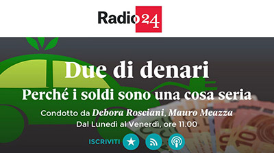 Radio24 Due di Denari del 26.02.2019