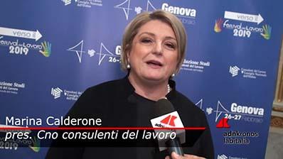 Adnkronos - 26.02.2019 Verso il Festival Genova - Calderone