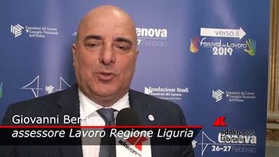 Adnkronos - 27.02.2019 Verso il Festival Genova - Berrino