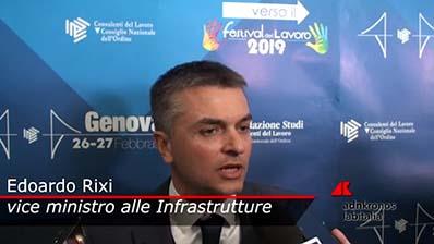 Adnkronos - 26.02.2019 Verso il Festival Genova - Rixi
