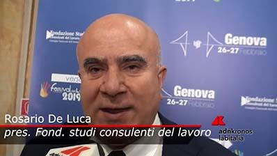 Adnkronos - 26.02.2019 Verso il Festival Genova - De Luca