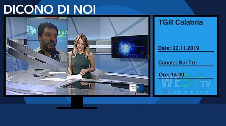 TGR Calabria del 22.11.2019