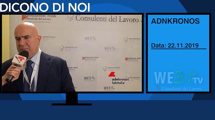 AdnKronos del 22.11.2019 - De Luca