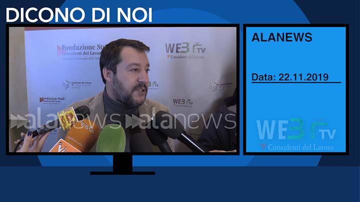Alanews del 22.11.2019 - Salvini - 3