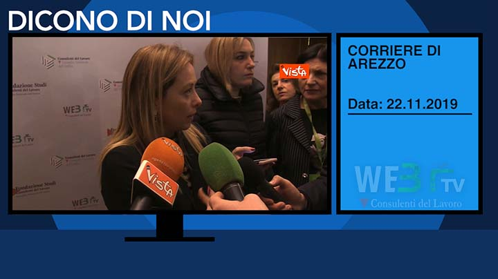 Corriere di Arezzo del 22.11.2019