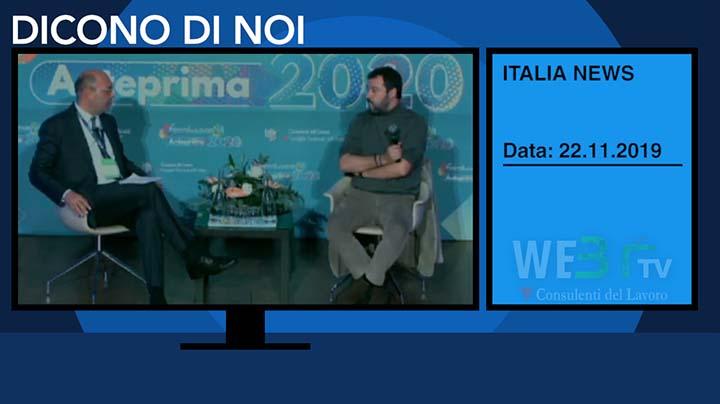 Italia News del 22.11.2019