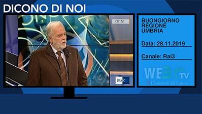 Buongiorno Regione Umbria del 28.11.2019