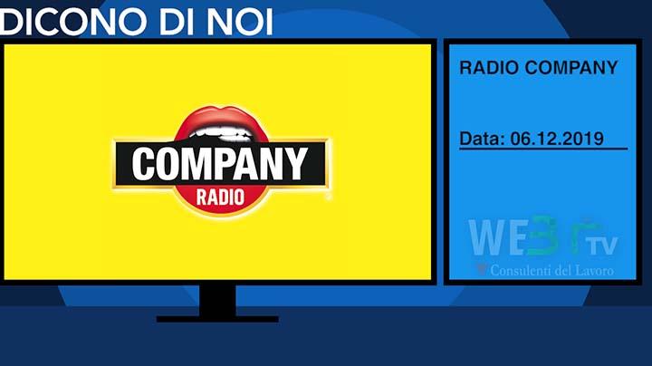 Radio Company del 06.12.2019 - Edizione delle 13.00