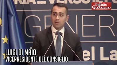 Il Fatto Quotidiano Tv del 11.01.2019 - Di Maio su boom economico