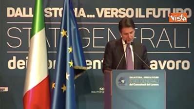 """Il Giornale.it del 11.01.2019 - Conte: """"Consulenti del lavoro 40 anni di tutela diritti e doveri"""""""