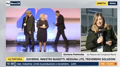 Rai News24 del 11.01.2019 - Edizione delle 13.00