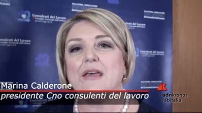 AdnKronos del 14.01.2019 - Marina Calderone