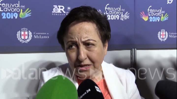AlaNews intervista del 21.06.2019 a Shirin Ebadi