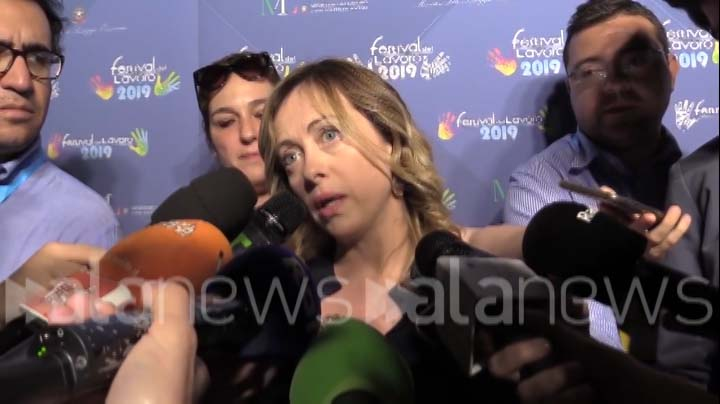 AlaNews intervista del 20.06.2019 a Giorgia Meloni