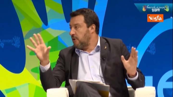 Vista Intervista del 21.07.2019 a Matteo Salvini 2