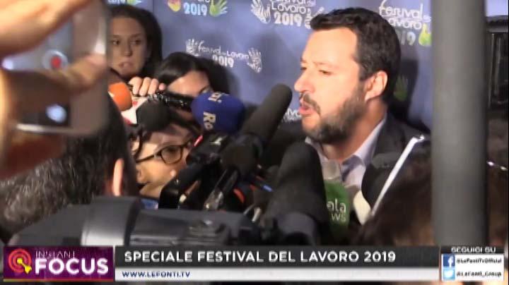 Le Fonti TV con Matteo Salvini del 21.06.2019