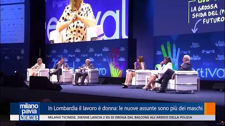 Milano Pavia TV al Festival del Lavoro del 21.06.2019