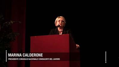 15.04.2019, Milano - La Presidente Calderone presenta i temi del Festival del Lavoro 2019