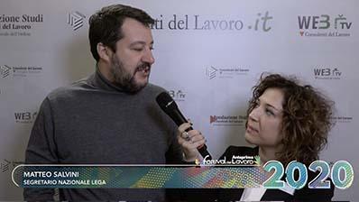 """Salvini: """"semplificazione, certezza delle norme e taglio delle tasse"""""""