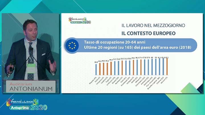"""""""Lavoro: emergenza Sud"""", intervento di Francesco Duraccio"""