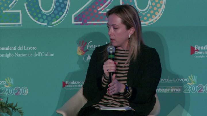 Intervista a Giorgia Meloni, Presidente Fratelli d'Italia