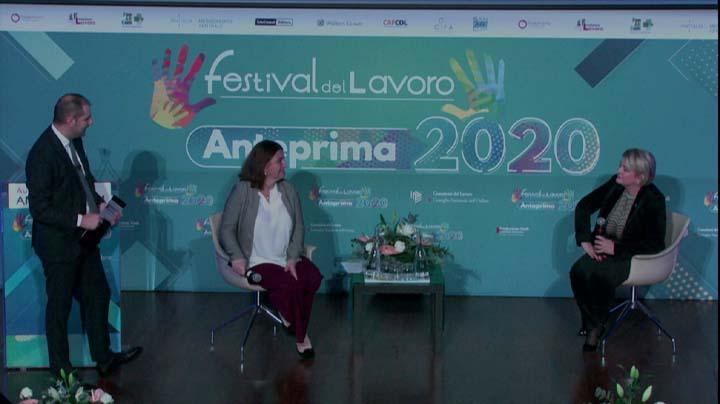 Chiusura lavori con il MInistro Catalfo e la Presidente Calderone