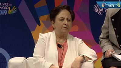 A confronto con Shirin Ebadi, Premio Nobel per la Pace