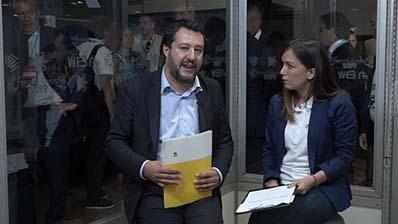 Intervista a Matteo Salvini, Ministro dell'Interno