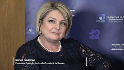 Intervista a Marina Calderone Presidente - Consiglio Nazionale CdL