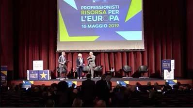 Professionisti risorsa per l'Europa, 16.05.2019