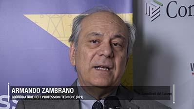 """Zambrano: """" Dai professionisti idee e proposte innovative per il Paese """""""