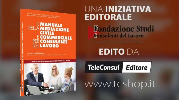 Spot Il Manuale della Mediazione Civile e Commerciale per CdL