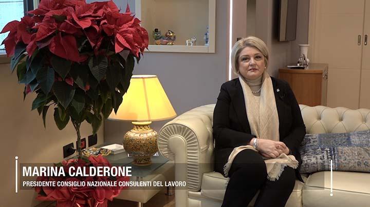 """Calderone: """"Un 2019 di sfide e nuove competenze"""""""