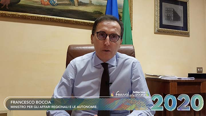 Il video messaggio del Ministro per gli affari regionali e le autonomie, Francesco Boccia