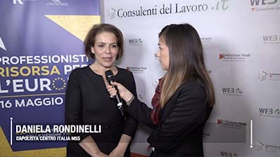 D. Rondinelli (M5S): in Europa con un programma concreto e pragmatico